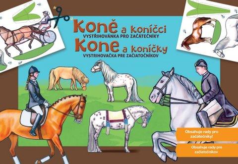neuveden: Koně a koníčci - Vystřihovánky pro začátečníky