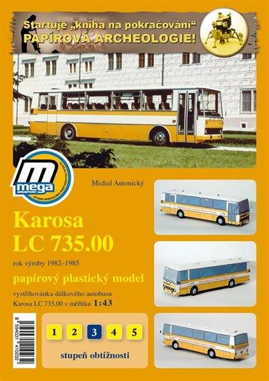 Antonický Michal: Karosa LC 735.00 rok výroby 1982 - 1985 /papírový model