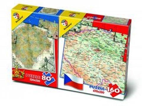 neuveden: Puzzle Mix 80/160 - Mapa