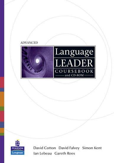 Cotton David: Language Leader Advanced CourseBook w/ CD-ROM/MyEnglishLab/Access Card Pack
