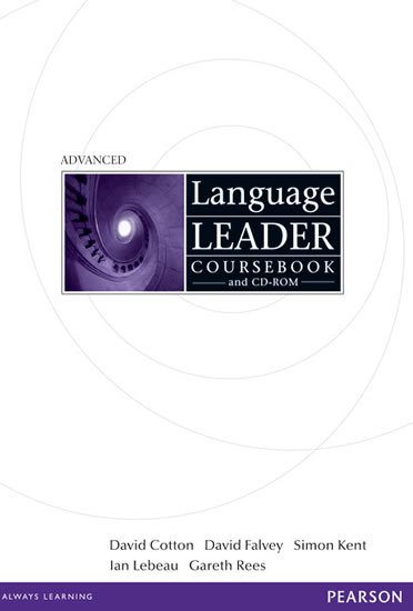 Cotton David: Language Leader Advanced Coursebook w/ CD-ROM Pack