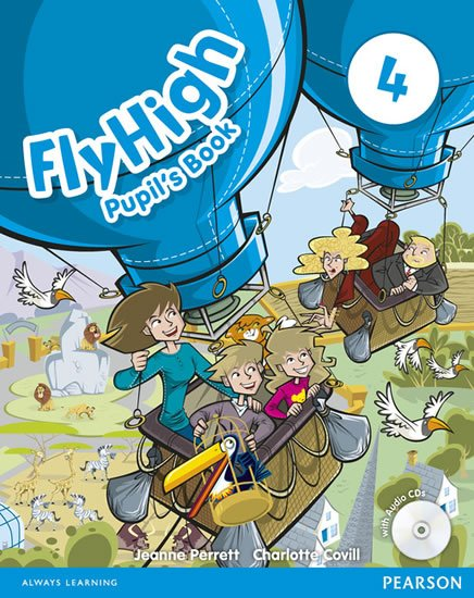 Perrett Jeanne: Fly High 4 Pupil´s Book w/ CD Pack