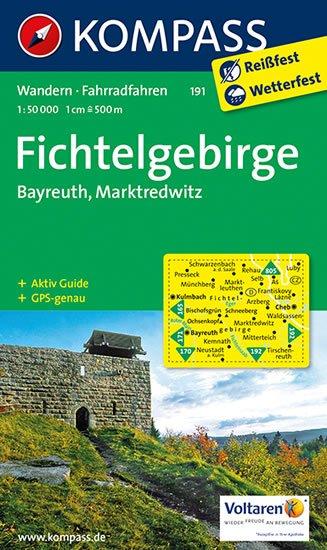 neuveden: Fichtelgebirge 191 / 1:50T KOM