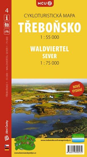 neuveden: Třeboňsko - cykloturistická mapa č. 4 /1:55 000