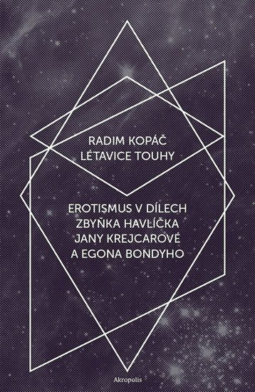 Kopáč Radim: Létavice touhy - Erotismus v dílech Zbyňka Havlíčka, Jany Krejcarové a Egon