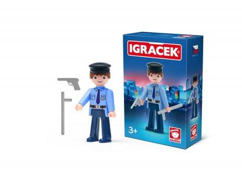 neuveden: IGRÁČEK - Policista s doplňky