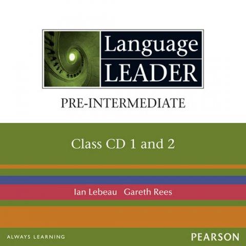 Lebeau Ian: Language Leader Pre-Intermediate Class CDs