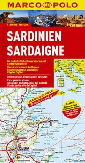 neuveden: Itálie č. 15-Sardnien/mapa 1:200T MD