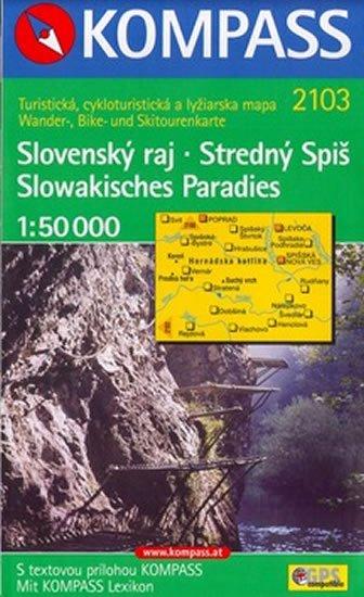 neuveden: Slovenský ráj   2103  NKOM 1:50T