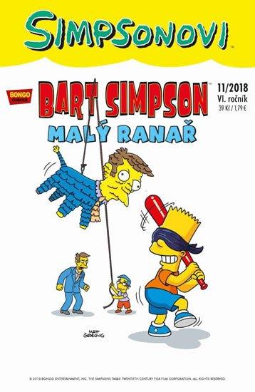 kolektiv autorů: Simpsonovi - Bart Simpson 11/2018 - Malý ranař