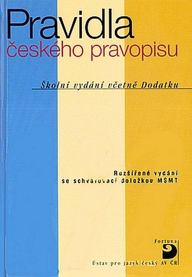 kolektiv: Pravidla českého pravopisu -vázaná