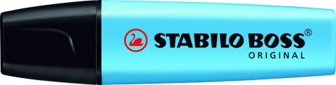 neuveden: Zvýrazňovač STABILO BOSS ORIGINAL modrý