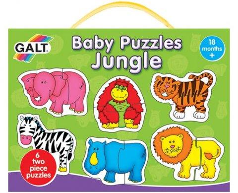 neuveden: Puzzle pro nejmenší - Zvířátka v džungli 2.