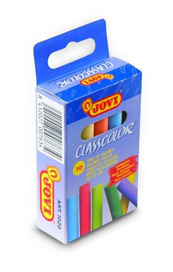 neuveden: JOVI křídy školní 10 kusů barevné