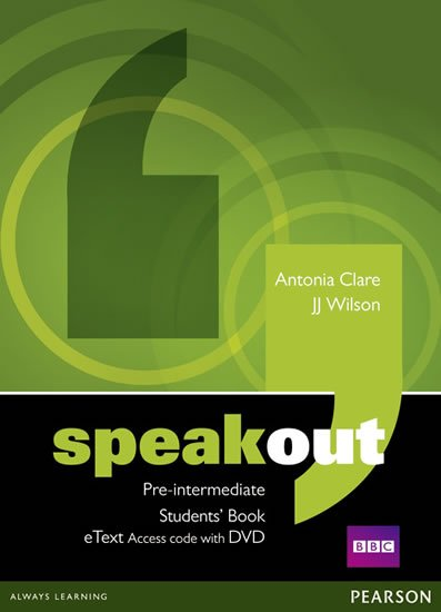 Wilson J. J.: Speakout Pre-Intermediate Students´ Book eText Access Card w/ DVD