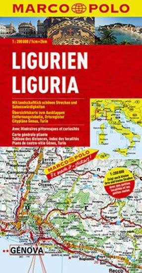neuveden: Itálei č.5 Ligurien/mapa 1