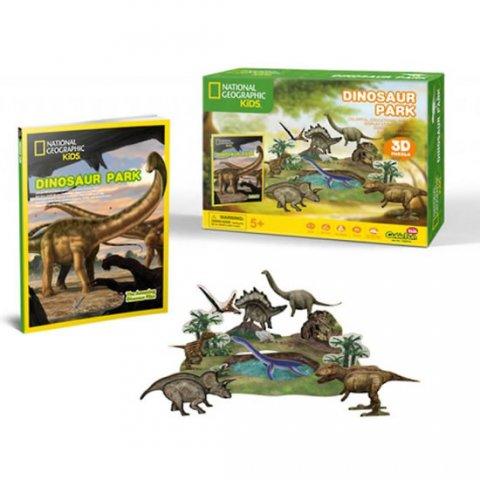 neuveden: Puzzle 3D Dino park NG- 43 dílků