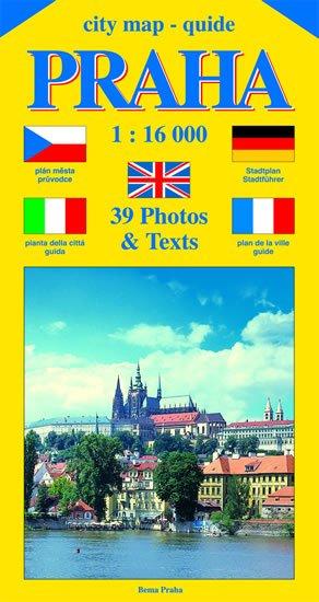 Beneš Jiří: City map - guide PRAHA 1:16 000 (čeština, angličtina, italština, němčina, f