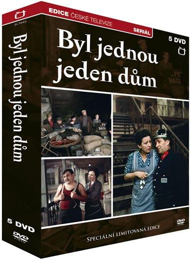 neuveden: Byl jednou jeden dům - 5 DVD