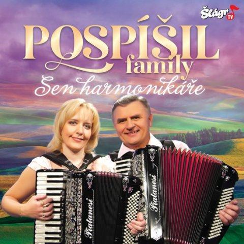 neuveden: Pospíšil family - Sen harmonikáře - CD