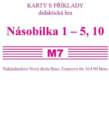 Rosecká Zdena: Sada kartiček M7 - násobilka 1-5,10