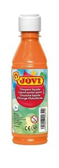 neuveden: JOVI temperová barva 250ml v lahvi oranžová