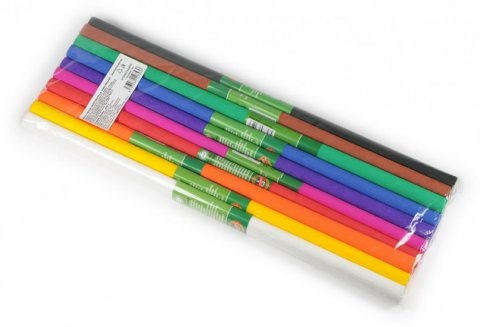 neuveden: Koh-i-noor papír krepový klasický 10 ks MIX odstínů v sadě