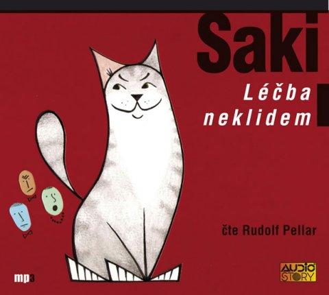 Saki: Léčba neklidem (výběr povídek) - CDmp3 (Čte Rudolf Pellar)