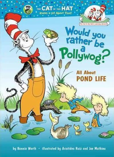 Worth Bonnie: Would You Rather Be a Pollywog? All About Pond Life
