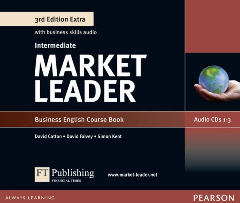 Scott-Barrett Fiona: Market Leader 3rd Edition Extra Intermediate Class Audio CD