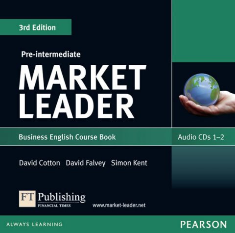 Cotton David: Market Leader 3rd edition Pre-Intermediate Audio CD (2)