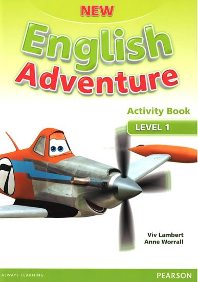 Worrall Anne: New English Adventure 1 Activity Book w/ Song CD Pack