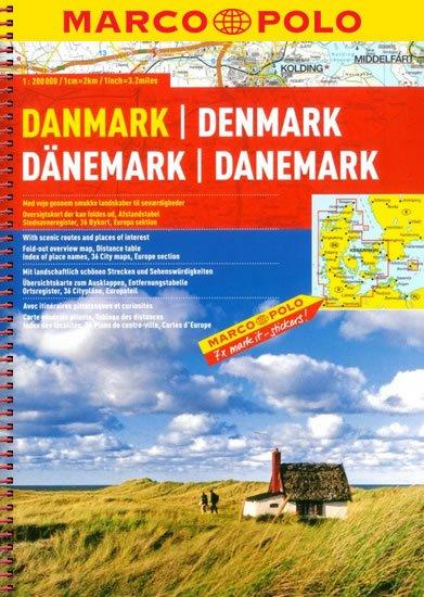 neuveden: Dánsko/atlas-spirála 1:200T MD
