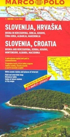 neuveden: Slovinsko/Chorvatsko mapa