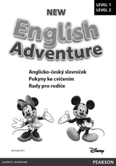 neuveden: New English Adventure 1 a 2 slovníček CZ
