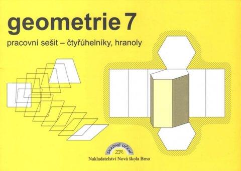 Rosecká Zdena: Geometrie 7 – pracovní sešit: čtyřúhelníky, hranoly