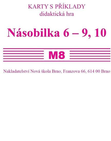 Rosecká Zdena: Sada kartiček M8 - násobila 6 - 9,10