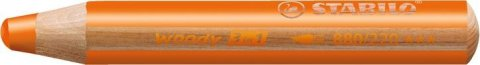 neuveden: Pastelka STABILO Woody 3v1 oranžová