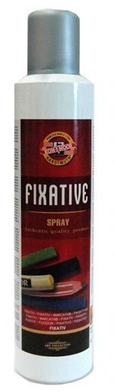 neuveden: Koh-i-noor fixativ spray 300 ml