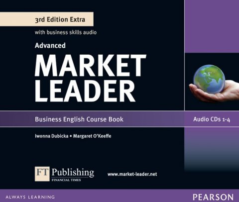O'Keeffe Margaret: Market Leader 3rd Edition Extra Advanced Class Audio CD