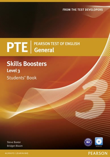 Baxter Steve: Pearson Test of English General Skills Booster 3 Students´ Book w/ CD Pack