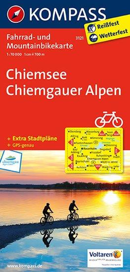 neuveden: Chiemsee,Chiemgauer Alpen 3121 / 1:70T KOM