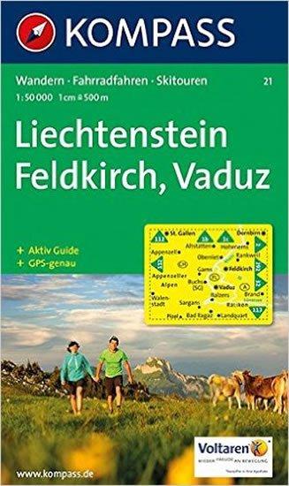 neuveden: Feldkirch,Vaduz 21 / 1:50T NKOM
