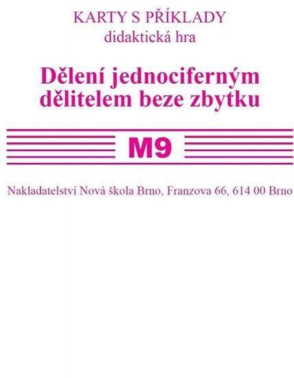 Rosecká Zdena: Sada kartiček M9 - dělení jednociferným dělitelem beze zbytku