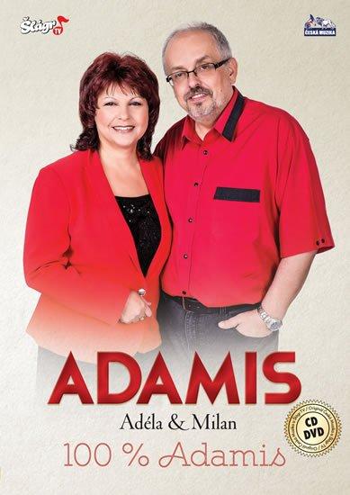 neuveden: Duo Adamis - 100% Adamis - CD + DVD
