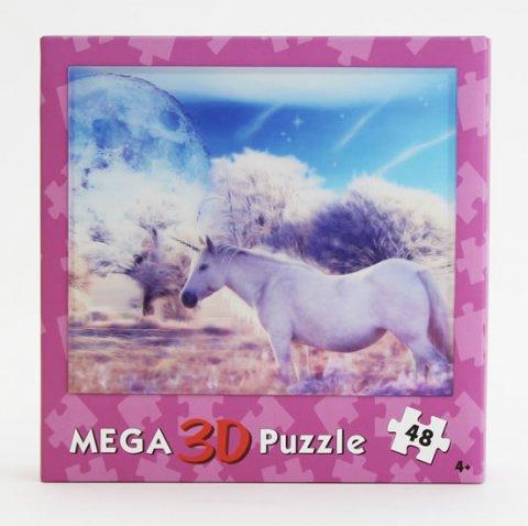 neuveden: 3D puzzle Jednorožec