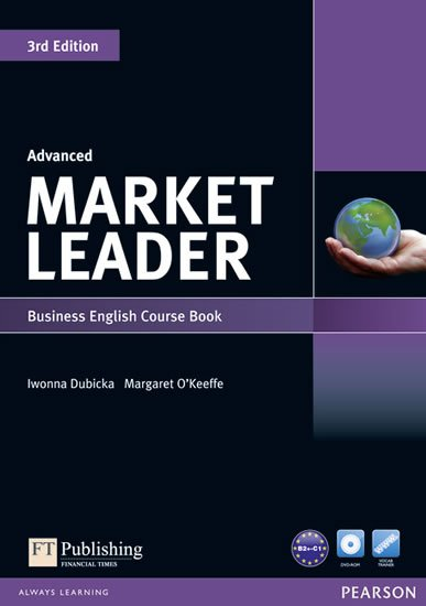 Dubicka Iwona: Market Leader 3rd Edition Advanced Coursebook w/ DVD-Rom Pack