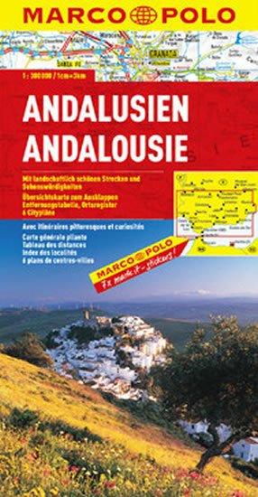 neuveden: Andalusie / mapa