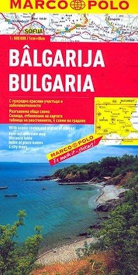 neuveden: Bulharsko/mapa 1:800T MD