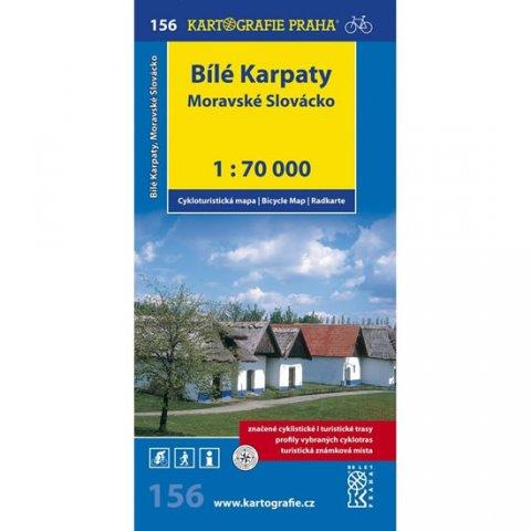 neuveden: 1: 70T(156)-Bílé Karpaty,Moravské Slovácko (cyklomapa)